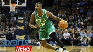 Boston Celtics EXCLUSIVE: Terry Rozier sends warning to 76ers ahead of NBA London game