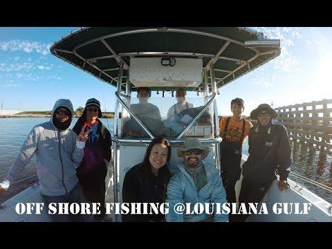 Off shore fishing in Louisiana