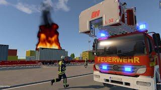 Emergency Call 112 - German Firefighters Responding! 4K screenshot 5