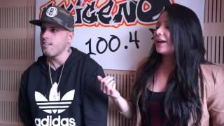Nicky Jam improvisando en La Papaya de Oxígeno FM