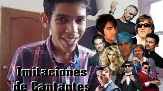 Gambar cover 11 Voces, 1 Joven / Imitaciones de Cantantes / Mario M. Segovia