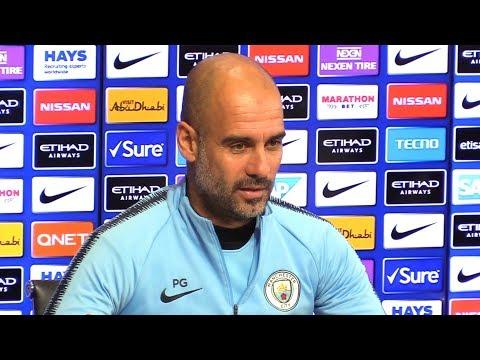 Pep Guardiola Embargoed Pre-Match Press Conference - Chelsea v Manchester City - Premier League