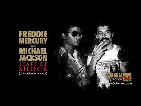 Freddie Mercury & Michael Jackson - State Of Shock (Edit Version - 2014 Hernán Snow Remaster)