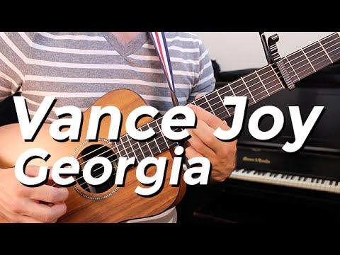 Vance Joy - Georgia (Guitar Tutorial) by Shawn Parrotte