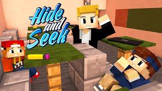 IN DER SCHULE VERSTECKT! | Minecraft Hide and Seek