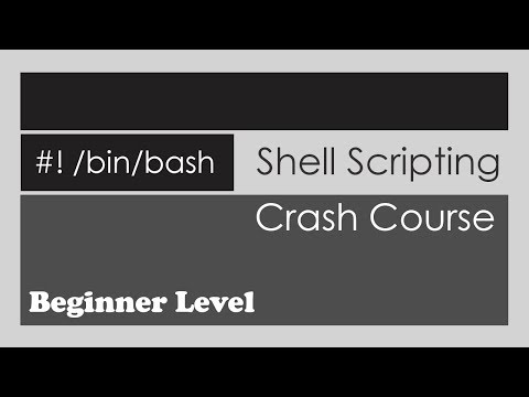 Shell Scripting Crash Course - Beginner Level