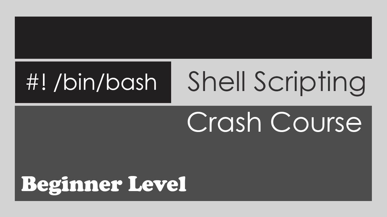 Download Shell Scripting Crash Course - Beginner Level