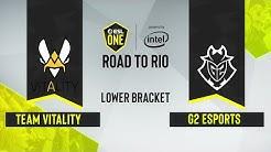 CS:GO - G2 Esports vs. Team Vitality [Dust2] Map 3 - ESL One: Road to Rio - Lower Bracket Final - EU