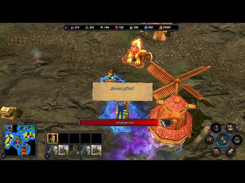 Heroes of Might and Magic V - Tribes of the East on random map 001 part10 |