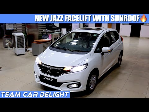 2020 Honda Jazz - Review with On Road Price, New Features | Jazz Top model 2020 facelift | Jazz ZX