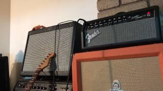 Fender Super Champ x2 head Demo