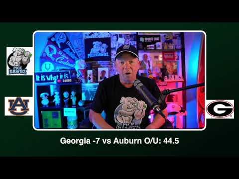 Georgia vs Auburn Free College Football Picks and Predictions CFB Tips Saturday 10/3/20