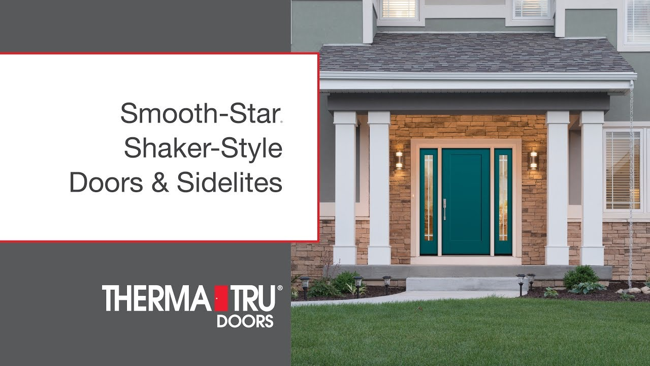 new for 2017: shaker-style doors & sidelites for smooth-star - youtube