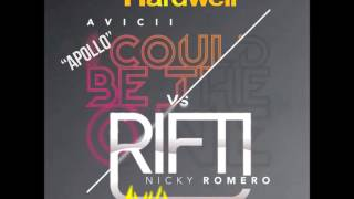 Hardwell vs Avicii ft. Nicky Romero vs Dirty South - Apollo Could Be The Rift (Ryser Mashup)