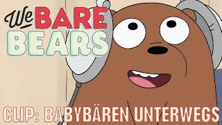 WE BARE BEARS - BÄREN WIE WIR // Clip: Babybären unterwegs | Disney Channel