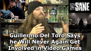 Guillermo Del Toro Says he Will Never Again Get Involved in Video Games