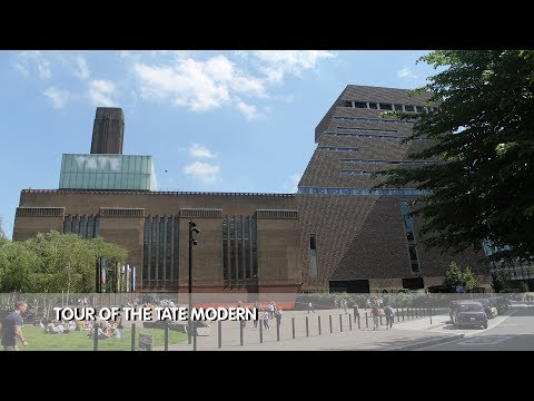 Tour of Tate Modern Museum