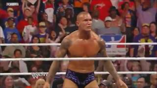 Randy Orton RKO'S and Punt Kicks