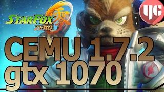 Star Fox Zero [Cemu 1.7.2] Gameplay+FPS