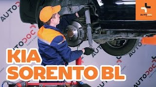 Replacing Caliper on KIA SORENTO: workshop manual
