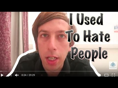 I Used to Hate People Because I Thought They Hated Me