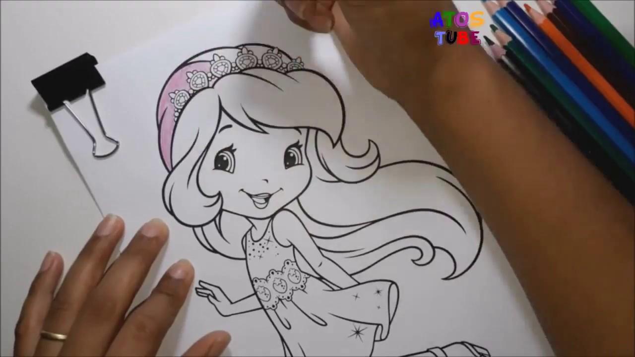 Desenhos Para Colorir Moranguinho Belos Desenhos Para As Criancas