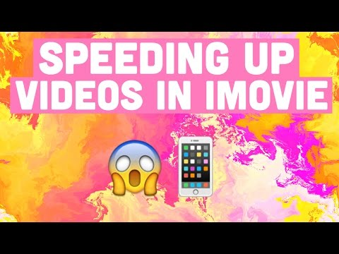 How To: Speed Up Videos in iMovie