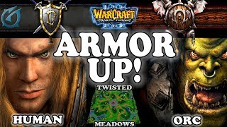 Grubby | Warcraft 3 TFT | 1.29 | HU v ORC on Twisted Meadows - Armor Up!