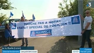 ACTION ALLIANCE POLICE NATIONALE DU 22 MAI