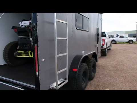 The Ultimate UTV/Toy Hauler Off Road Trailer - We load a RZR XP 1000 with 32 inch tires!