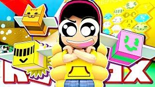 Becoming OP Queen Bee!!! - Roblox Bee Swarm Simulator - DOLLASTIC PLAYS!