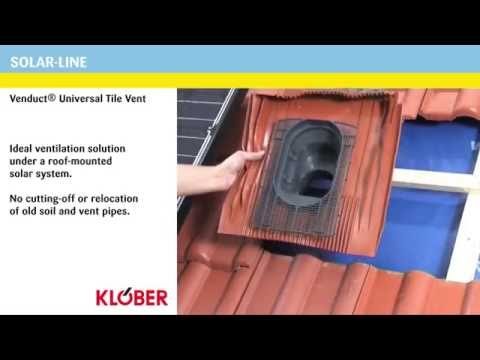 Klober Uni-Line Universal Hooded Vent With Cap