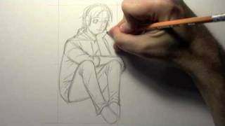 How to Draw Poses: Sitting [HTD Video #8]