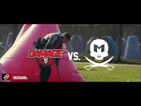 Tampa Bay Damage vs Indianapolis Mutiny | 2018 NXL Texas Open Scrimmage | Raw Paintball Practice