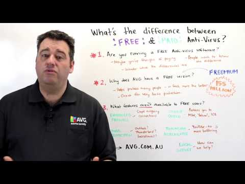 AVG's Michael McKinnon Explains The Difference Between Free and Paid Antivirus
