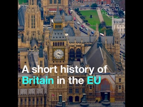 A short history of Britain in the EU