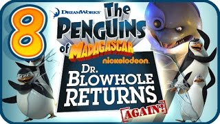 Penguins of Madagascar Dr Blowhole Returns Again Walkthrough Part 8 (PS3) 100% Chameleon Catch