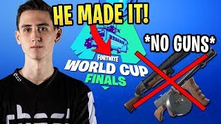 Ghost Bizzle Got in the World Cup Qualifier Finals With NO GUNS!
