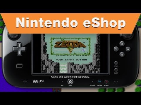 Nintendo eShop - The Legend of Zelda for Wii U Virtual Console Trailer