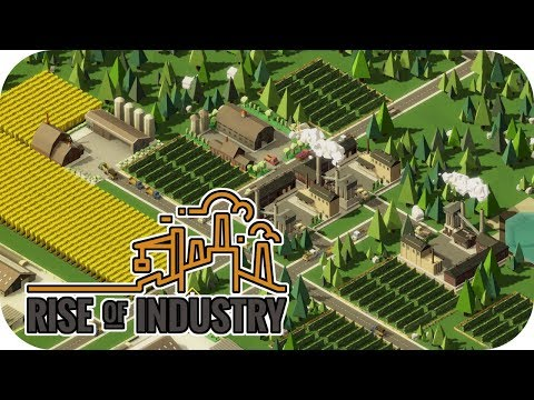 Giants of Industry! – Rise of Industry Gameplay – Let's Play Part 1