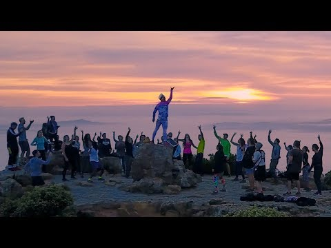 Epic sunrise party  - Cape Town
