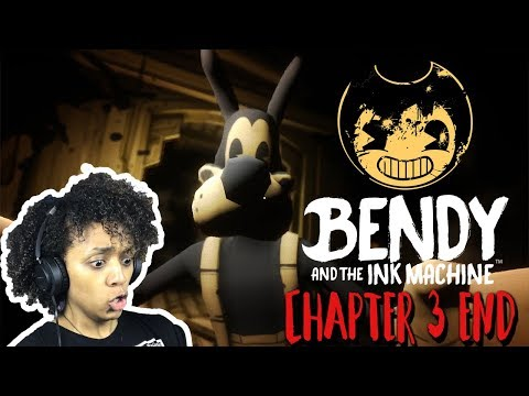 BORIS NO! Bendy and the Ink Machine Chapter 3 END