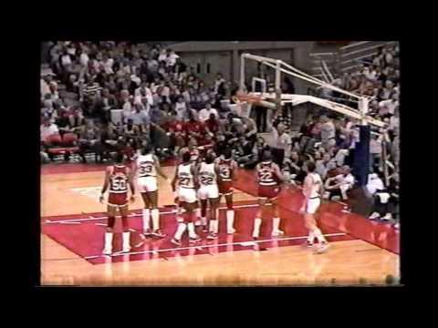 1987 Playoffs Houston@Portland Game 1 HIGHLIGHTS