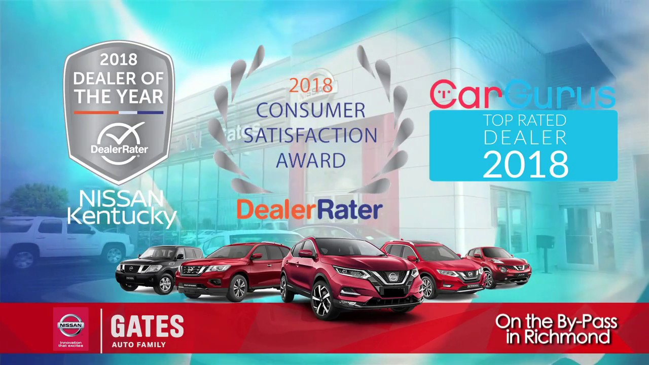 Why Buy From Gates Nissan In Richmond?