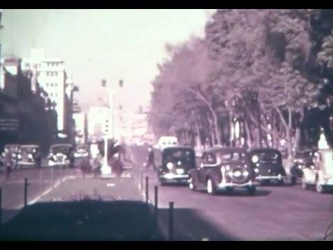 La Ciudad de México, escenas antiguas (circa 1950)
