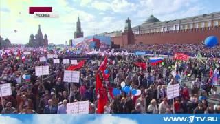 1 Мая Москва Парад На Красной Площади !!!