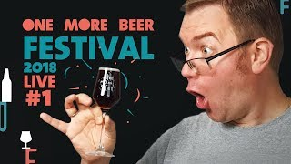 [Livedegu] One More Beer Festival 2018 odc. 1 #ombf2018 - Na żywo