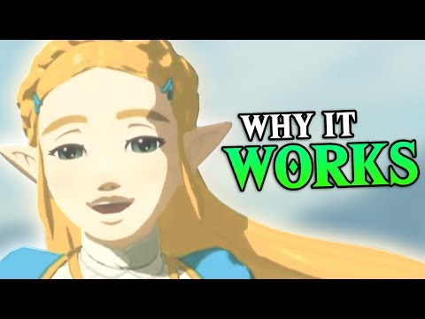 """Breath of the Wild: Zelda's WEIRD """"Smile"""" Explained"""