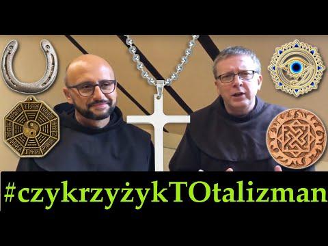 bEZ sLOGANU2 (460) Krzyżyk na szyi jest amuletem czy talizmanem? A różaniec koło lusterka w aucie?