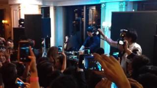 DJ MAKIDAI ベイサイドクラブのレセプションパーティーに登場.